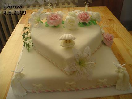 FOTKA - 1.svatební dort