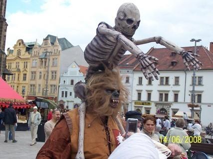 FOTKA - Jarmark na náměstí v Plzni