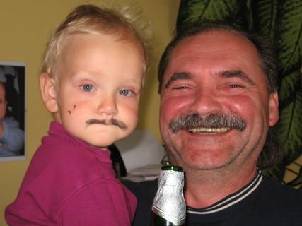 FOTKA - Kubíček s tatínkem