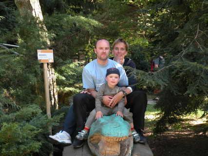 FOTKA - naše rodinka v zoo