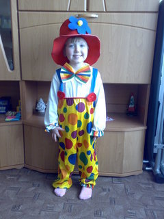 FOTKA - malý klaun