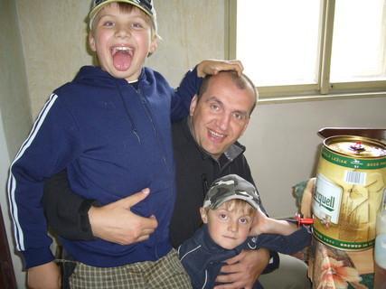 FOTKA - moji tři kluci
