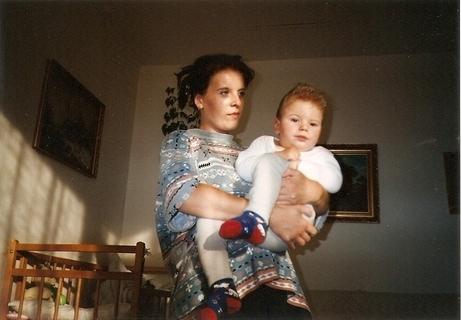 FOTKA - s maminkou