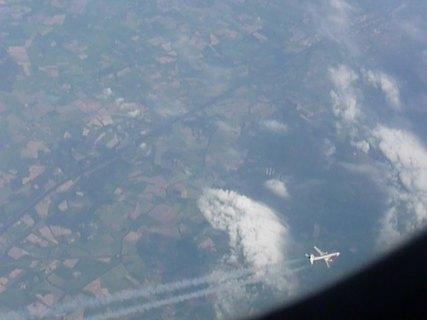 FOTKA - pohled z letadla