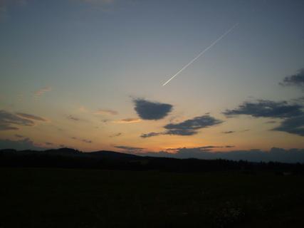 FOTKA - Večerní obloha