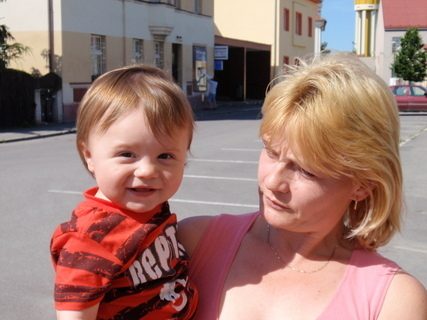 FOTKA - Tomík s maminkou