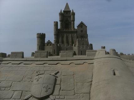 FOTKA - hrad z písku