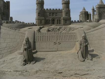 FOTKA - hrad z písku 2