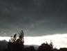 Bouřková  mračna  se ženou k nám od severovýchodu...,30.6.2009.