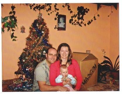 FOTKA - rodinka o štědrém dnu