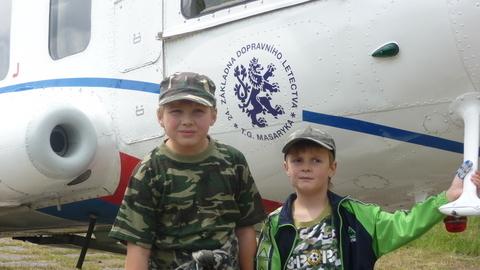 FOTKA - kluci u vrtulníku 2