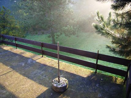 FOTKA - Most - mlha - slunce.