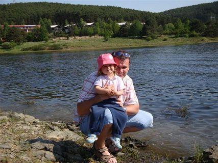 FOTKA - Terezka s tatínkem