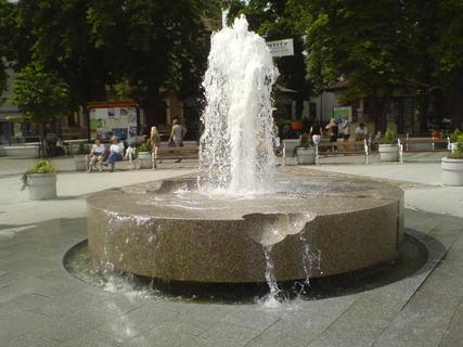 FOTKA - fontána na náměstí
