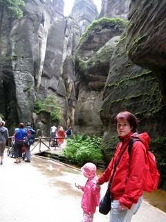 FOTKA - procházka ve skalách,
