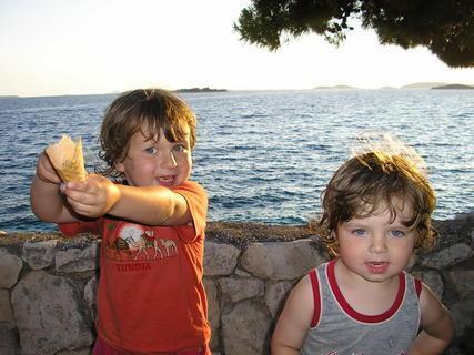FOTKA - moje zlatíčka letos v Chorvatsku