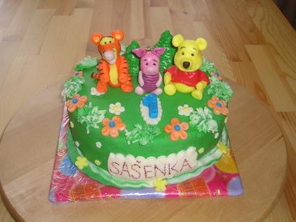 FOTKA - dortík pro Sašenku