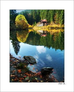 FOTKA - odraz v jezeře