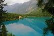 Barvy horského jezera