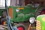 Zelený traktor