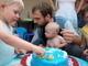 fotka u dortu - lepsi se nestihla!