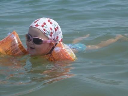 FOTKA - Plavání v moři
