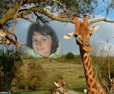 FOTKA - Nika s žirafou :O)