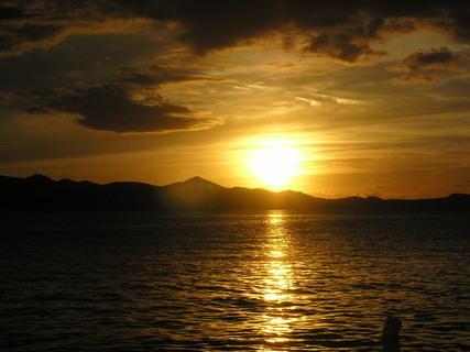 FOTKA - more zo zapadajucim slnkom
