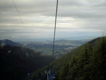 FOTKA - výhled z lanovky