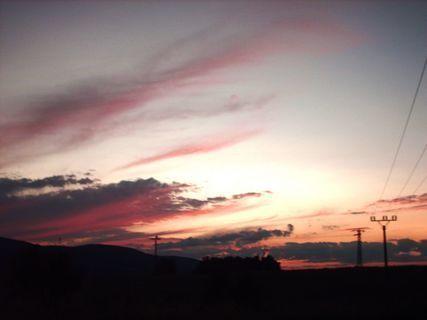 FOTKA - Dnešní západ slunce- 13.7.2009.