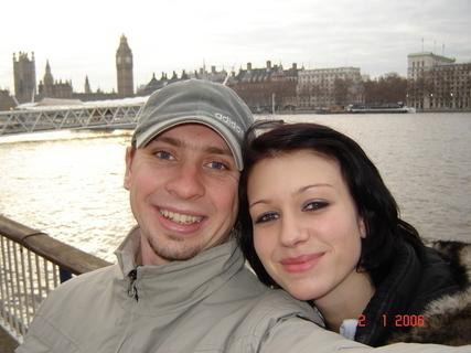 FOTKA - V Londýně s miláčkem