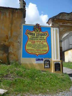 FOTKA - Zámek Letovice vstup