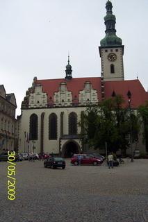 FOTKA - Tábor - kostel Nejsvětější trojice na náměstí