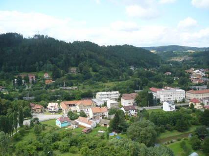 FOTKA - Pohled na Letovice ze zámku