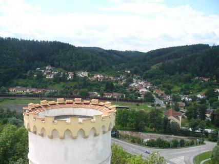 FOTKA - bezva pohled na Letovice ze zámku