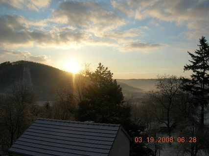 FOTKA - zimní východ slunce