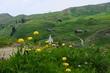 Jaro v horském průsmyku