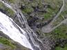 zákruta pod vodopádem