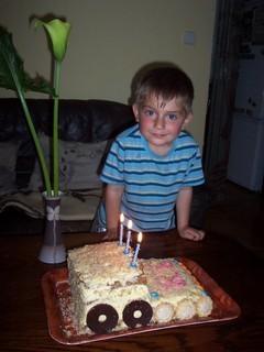 FOTKA - Jiřík s dortem