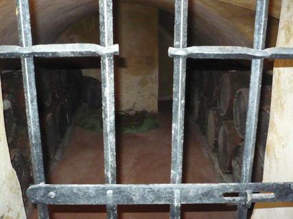 FOTKA - zámecké vinné sklepy  - mříže