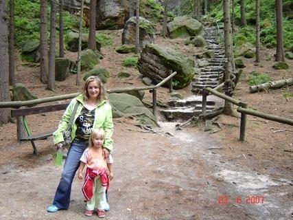 FOTKA - my dvě v českém ráji