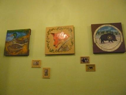 FOTKA - dekorace na chatě