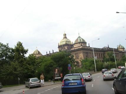 FOTKA - PRAHA - Národní muzeum z jiného úhlu