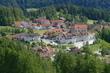 Vesnička v Jižních Tyrolích