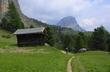 chodníček v Dolomitech