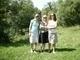 Sestra, ja a sesternica na prechádzke po oslave :)