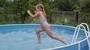 běh na vodě - má dcerka