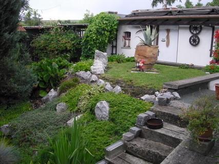 FOTKA - kousek zahrady na chatě