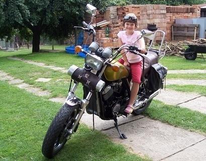 FOTKA - Na motorce