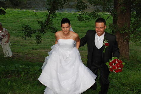 FOTKA - nevěsta a ženich